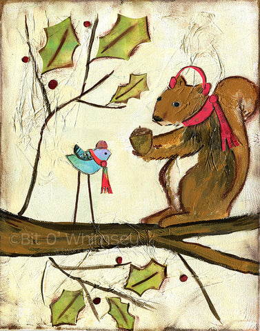 Gift Giving Squirrel