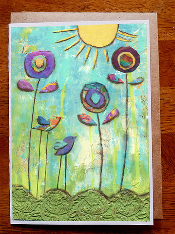 Sunshine......5 x 7. Greeting Card