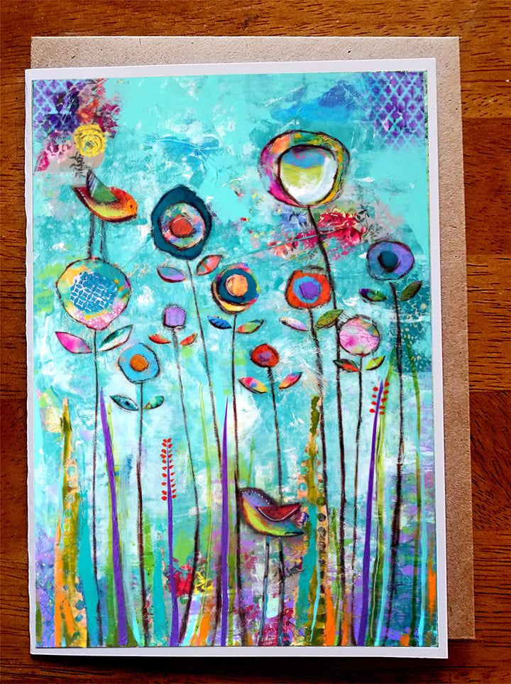 Symphony in Spring......5 x 7. Greeting Card