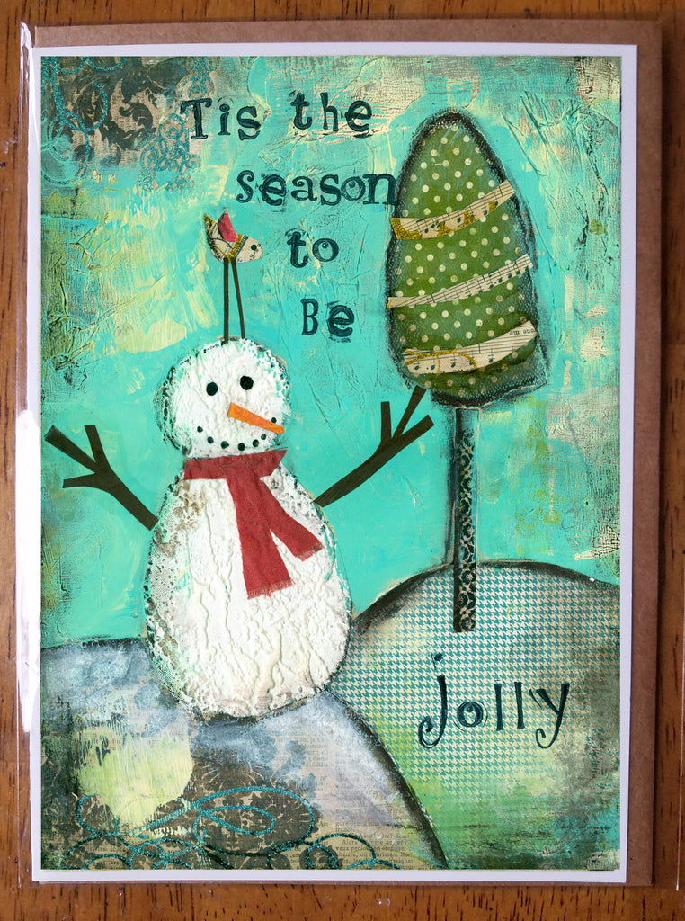 Tis the Season 5 x 7 card with envelope