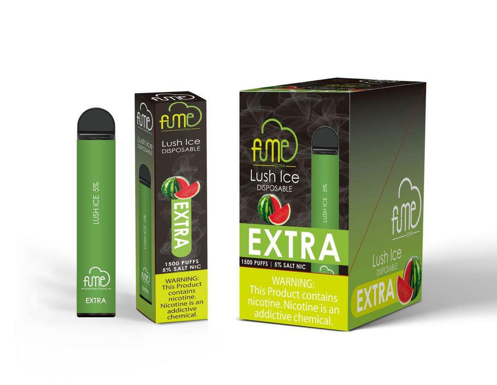 Fume extra disposable Vape 1500 Puffs Lush ice