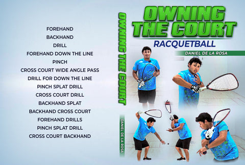 Owning The Court: Racquetball by Daniel De La Rosa