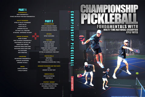 Championship Pickleball by Kyle Yates