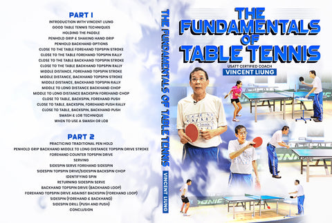 The Fundamentals of Table Tennis by Vincent Liung
