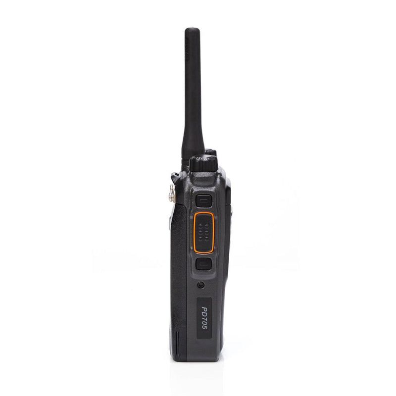 Hytera PD705 EX-HIRE QUAD PACK with Single Chargers & Earpieces