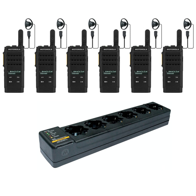Motorola SL2600 - 6 PACK including charger & earpieces