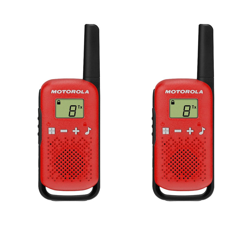 Motorola T42 Walkie Talkies - Twin Pack