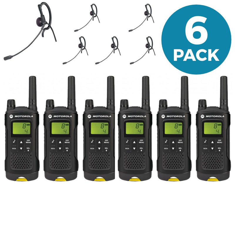 Motorola XT180 with earpieces - Six Pack