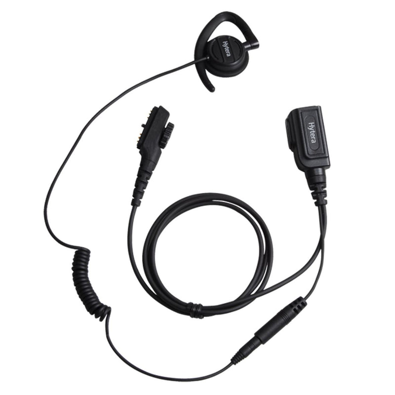 Swivel earpiece with inline Mic & PTT (for PD7 & PD9 Series)