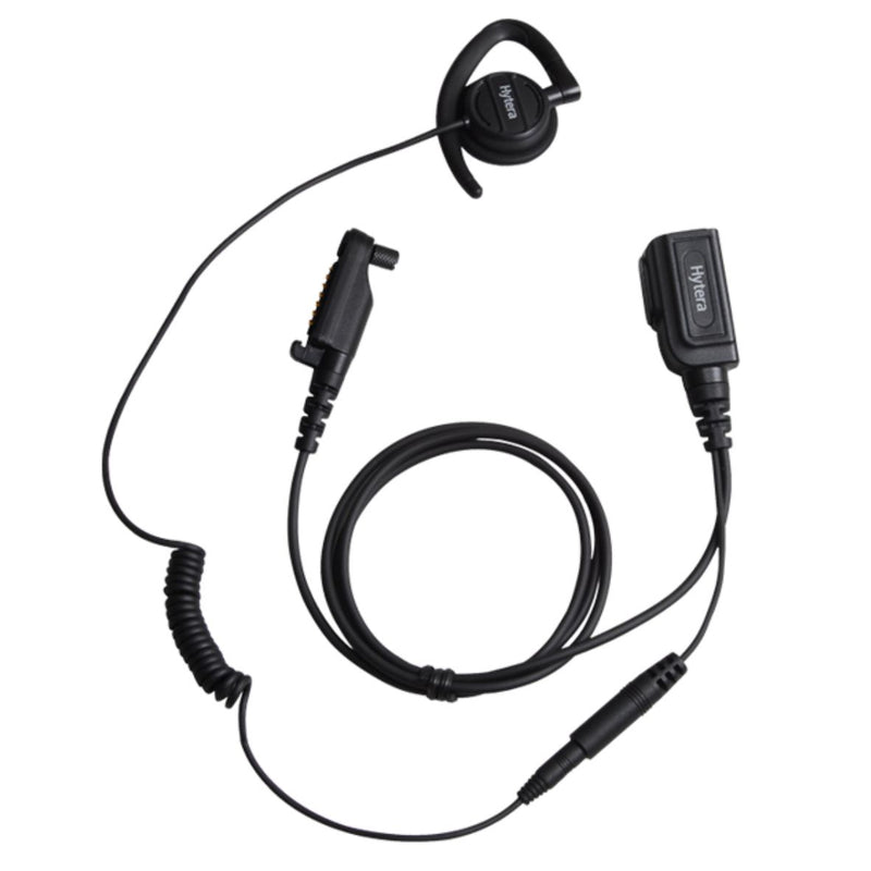 Swivel earpiece with inline Mic & PTT (for PD6 & X1 Series)