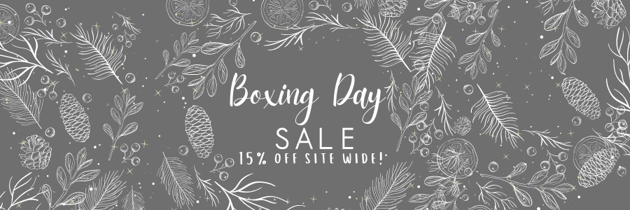 We're doing a Boxing Day Sale!