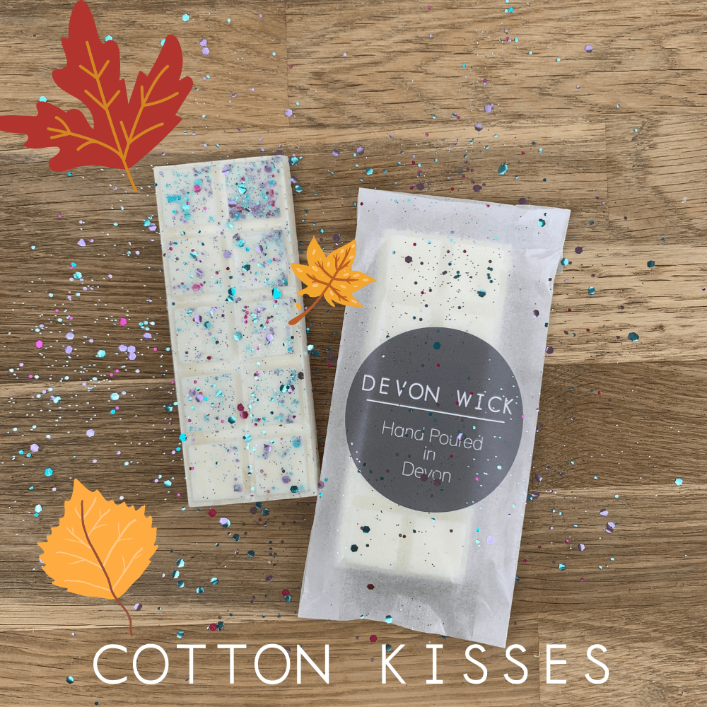 Devon Wick Candle Co. Limited Cotton Kisses Snap Bar