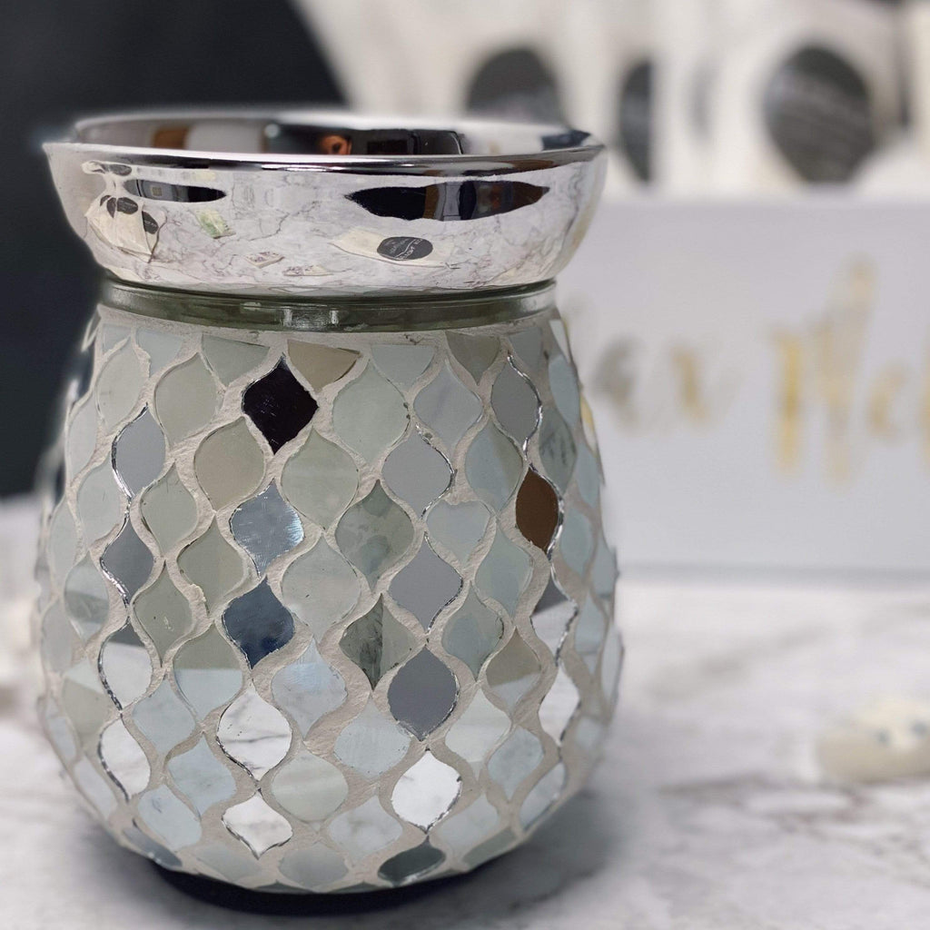Devon Wick Candle Co. Limited Pearl & Silver Electric Melter