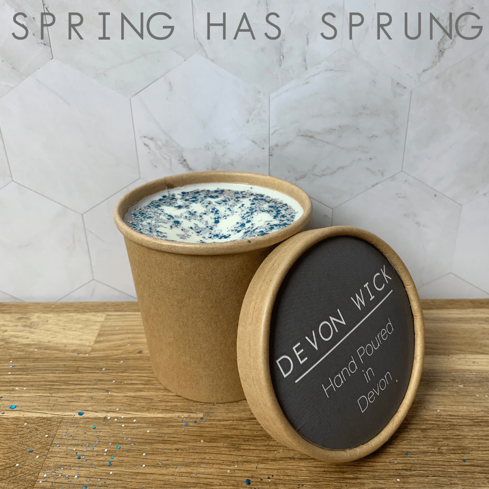 Devon Wick Candle Co. Limited Spring Has Sprung Wax Melt Tub