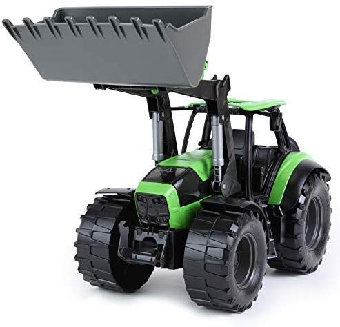 Tractor Deutz-Fahr Agrotron 7250 in Green and Black, 1:15 Scale Model by Lena