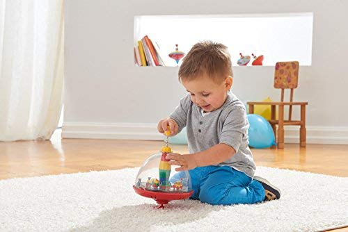 Train Spinning  Toy Top With Sounds and Train By Bolz