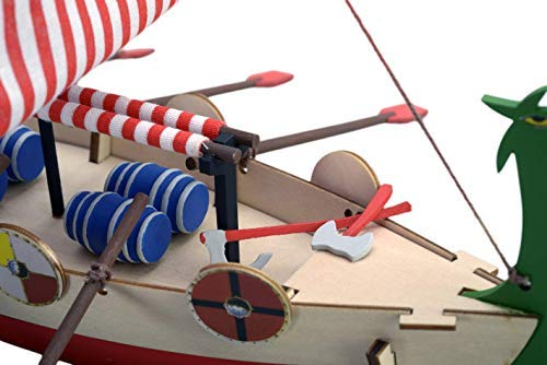 Wooden Drakkar Viking Boat Modelling Kit By Artesania Latina
