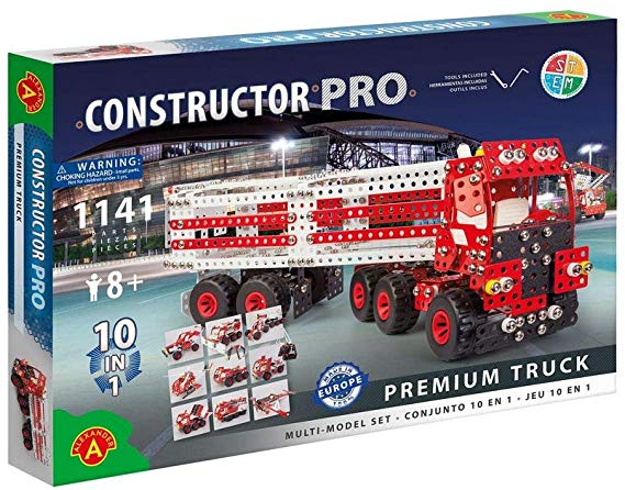 PRO Premium Truck 10 in 1 Multi-Model Metal Construction Building Kits  by Alexander Constructor