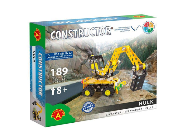 Hulk Excavator Metal Construction Model Building Kit by Alexander