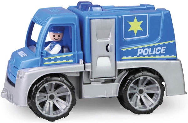 Lena Toys: City Police Truck for Indoor and Outdoor Play. Tactical swat Toy. Includes Driver Figure.
