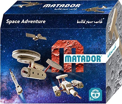 Matador Space Adventure Eco-Friendly Wooden Construction Set