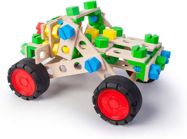 3 in 1 Off-Road Vehicle Set - Wooden Construction by Alexander