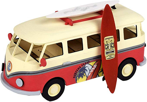 Wooden Surfer Van Modelling Kit By Artesania Latina