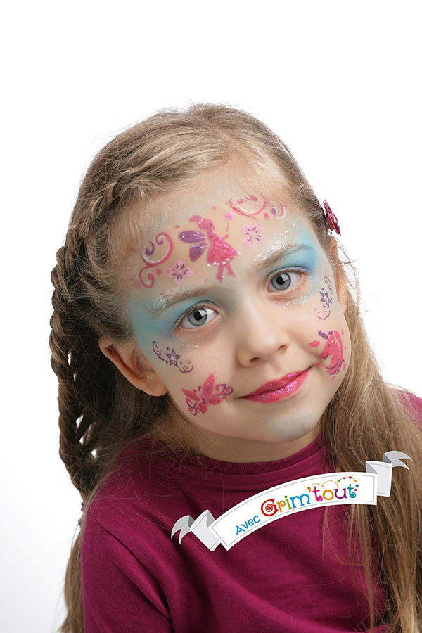 Fairy Face Painting Stencils by Grim Tout