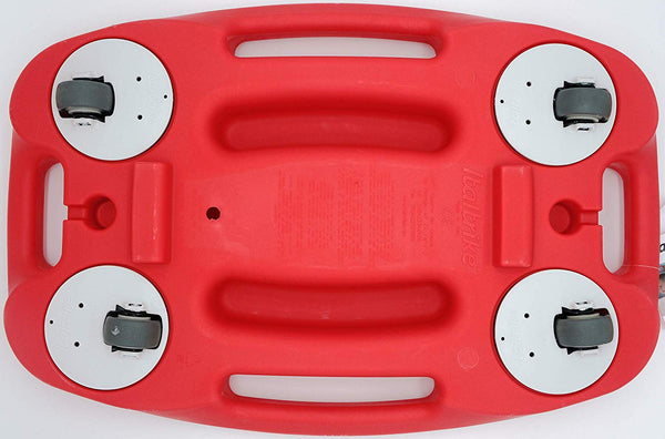 Scooter Board / Sit Down Scooter with 4 handles in Cherry Red by Italtrike