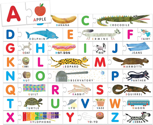 Touch ABC Alphabet Game for Learning to Read at The Age of Three Inspired by Montessori Schools for KsmToys s by Heady