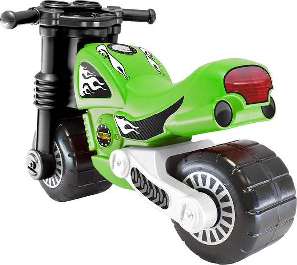 Flaming Star Motorbike Ride One / Balancing Bike By Wader Quality Toys