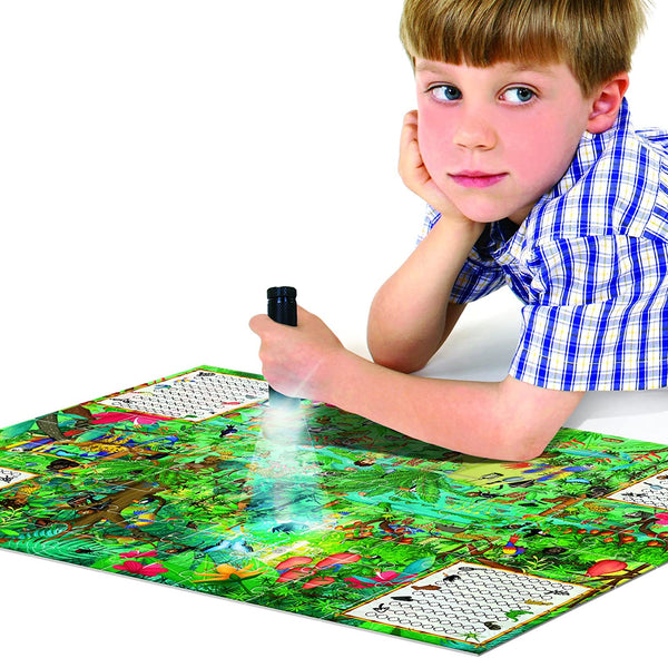 Explore The Forrest Scientific Puzzle and Observation Game for Ksmtoys by Headu