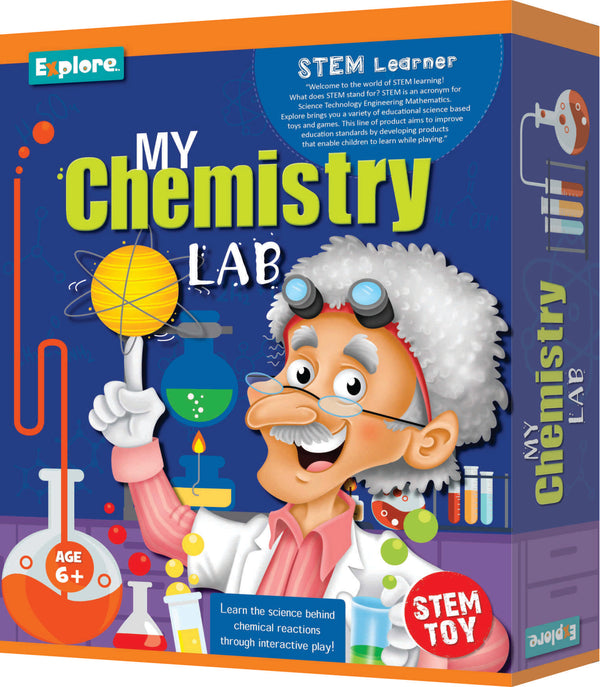 Chemistry Learning Lab Science Set for Boys and Girls Aged 6+ by BeakerLabz