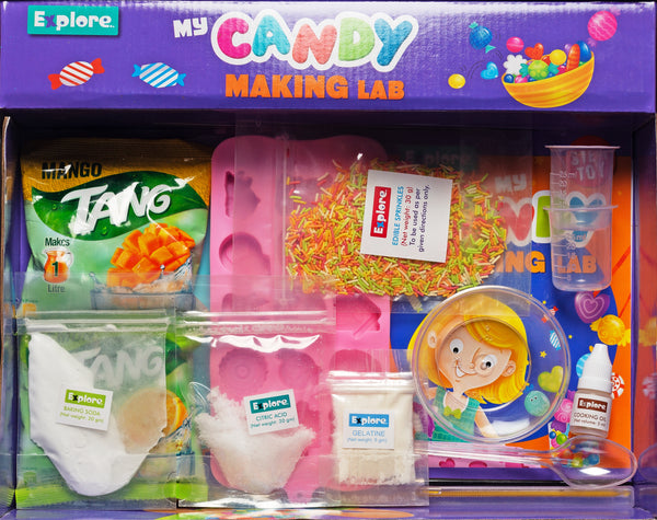Candy Making Lab Science Set for Girls and Boys 6+ by BeakerLabz