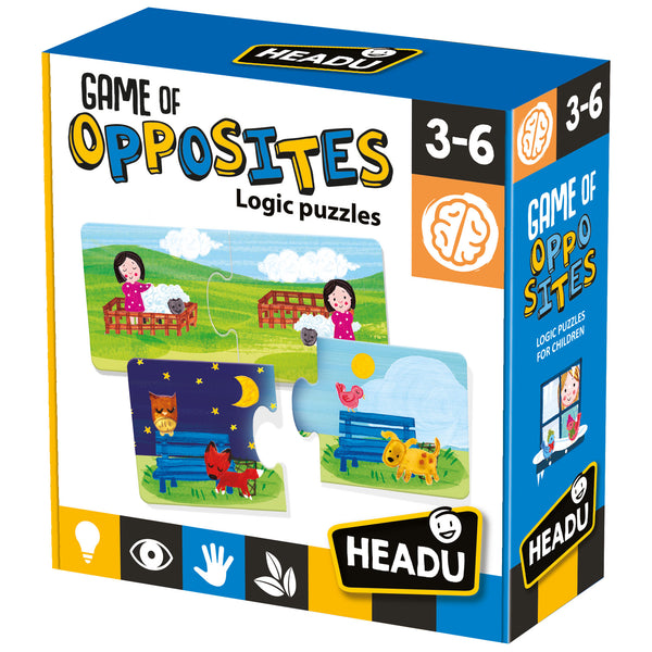 Game Of Opposites Learn and Understand the Logic of Opposites with Educational Puzzle from KsmToys by Headu