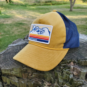 South Dakota Patch Corduroy Cap