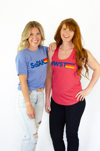 MWST Women's Red Tank