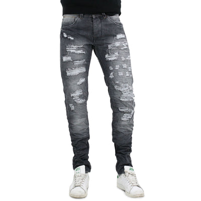 Jeans 5 Tasche Ripped Uomo - 3857