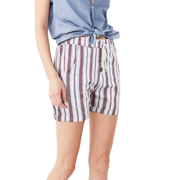 Shorts a Righe Donna - 3992