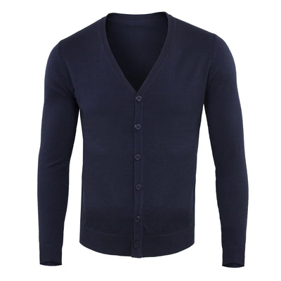 Cardigan con Bottoni Slim Uomo - 6668