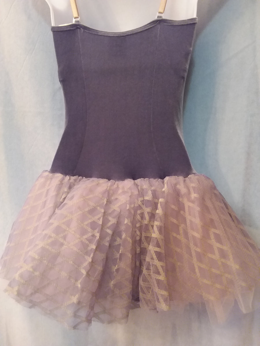 Body Wrappers Velvet Bodice with Tulle Skirt - TP721 Adult