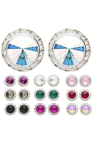 Dasha Designs Swarovski Performance Earrings - 2712