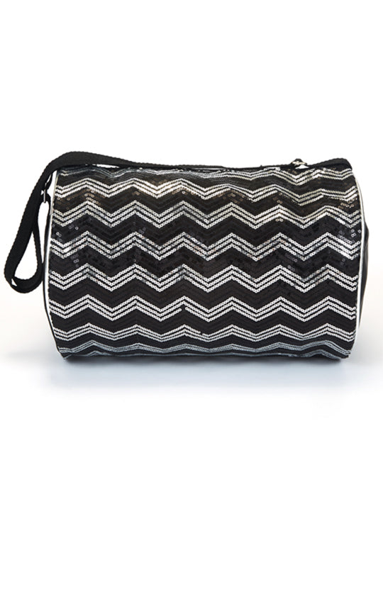 Dasha Designs Chevron Sequin Duffle - 4970