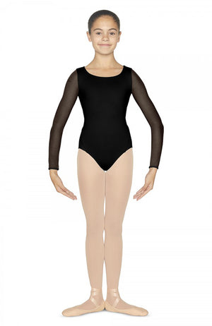 Bloch Edaline Long Sleeve Leotard - CL4809 Child