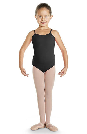 Bloch Tia Bow Detail Diamante Back Camisole Leotard - CL4847 Child