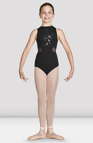Bloch Adrika High Neckline Zip Back Tank Leotard - CL4930 Child
