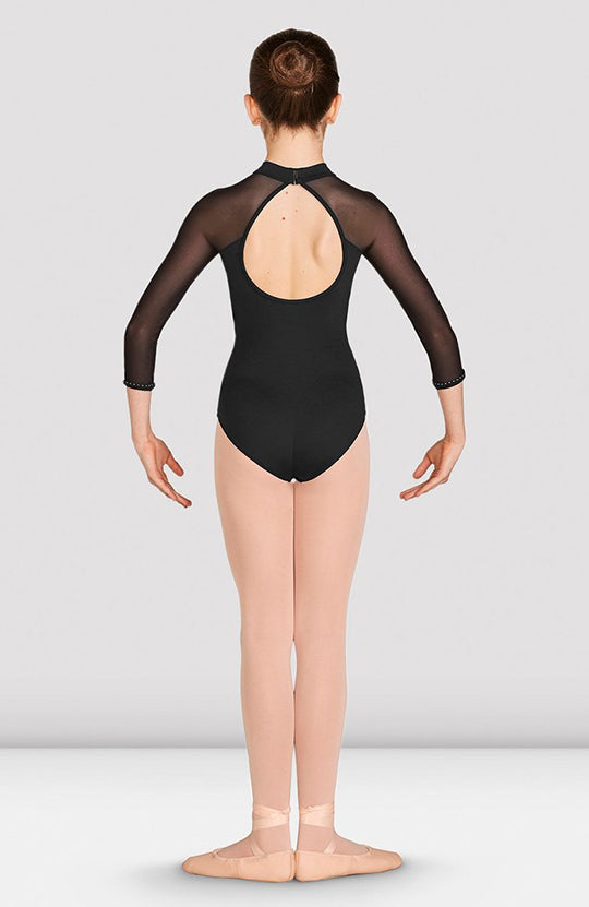 Bloch Kaylee Mesh Long Sleeve Leotard - CL5526 Child
