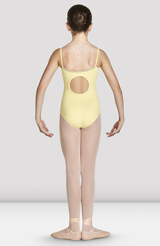 Bloch Lucille Cut Out Back Camisole Leotard - CL8787 Child