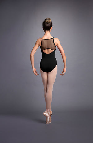 Bloch Miro Mesh Back Camisole Leotard - L3597 Adult
