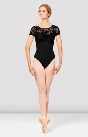 Bloch Eliana Mesh Back Cap Sleeve Leotard - L7892 Adult